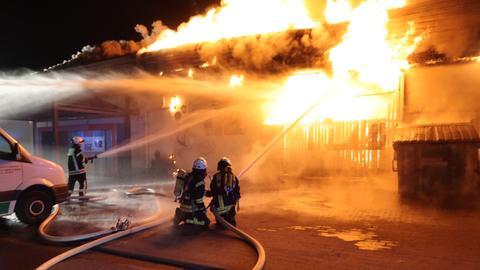 Baumarkt Limburg Feuer