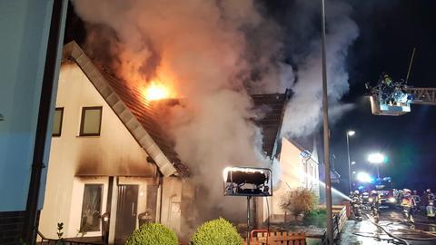 Feuerwehreinsatz in Baunatal