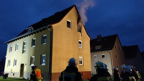 Wohnungsbrand in Bebra.