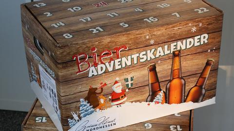 Bier-Adventskalender der Initiative GrimmHeimat NordHessen
