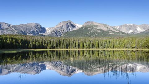 Bierstadt in den Rocky Mountains