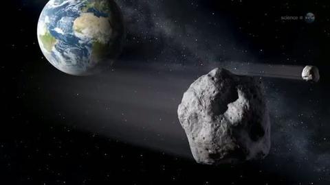 Asteroid nähert sich Erde