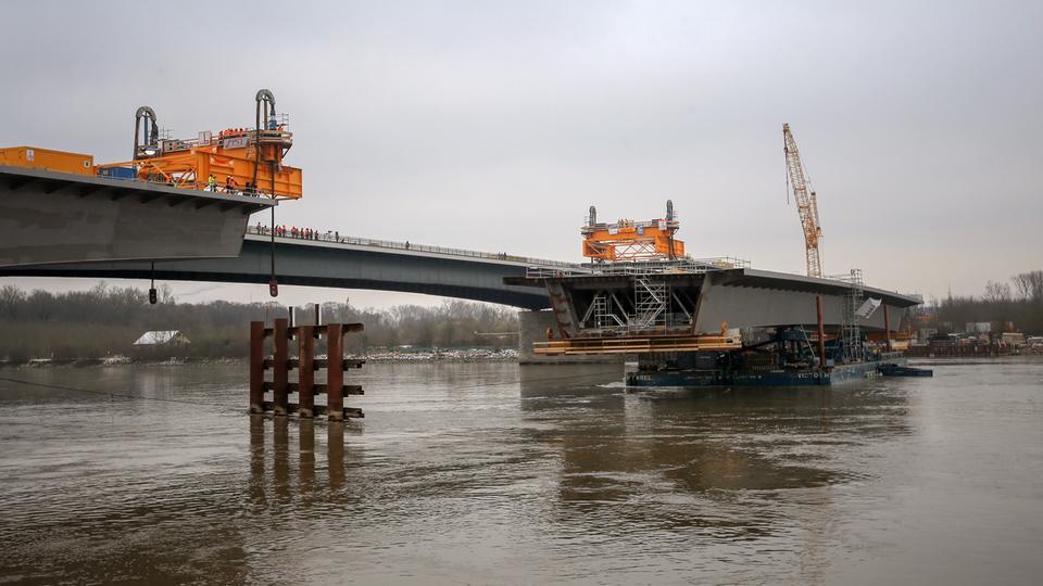 Webcam Schiersteiner Brücke