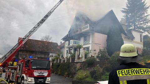 Feuerwehreinsatz in Birstein
