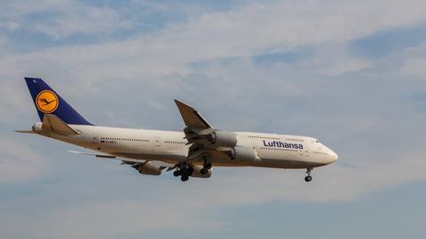 Boeing 747-830 Frankfurt