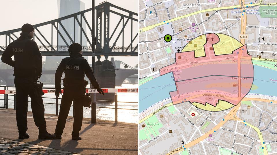 Bombenentschärfung Frankfurt Heute