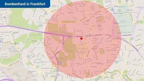 Frankfurt steht vor größter Evakuierung der Nachkriegszeit