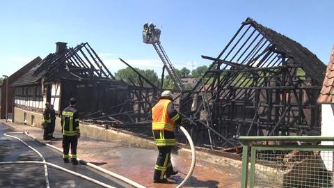 Die Feuerwehr konnte ein Ausbreiten des Feuers verhindern.