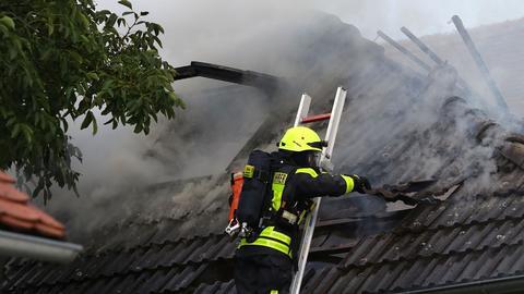 Brand in Wohnhaus in Altenstadt - Toter entdeckt
