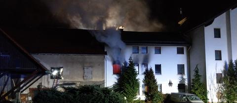 Wohnungsbrand in Bebra