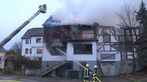 Brand in Bromskirchen