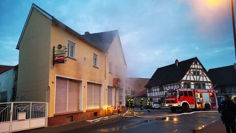 Wohnungsbrand in Büttelborn