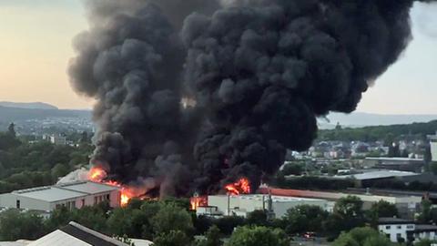 Brand Limburg Heute