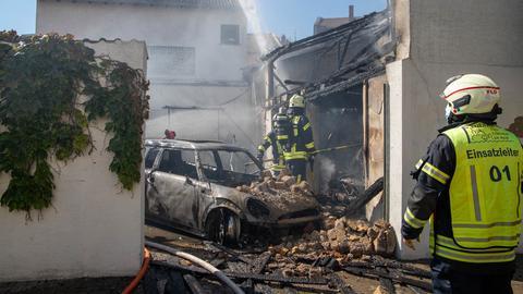 Feuerwehreinsatz in Flörsheim