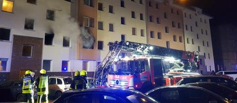 Feuerwehreinsatz im Frankfurter Nordend