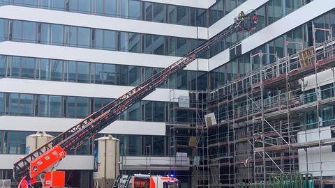 Brand Frankfurt Hafenstraße