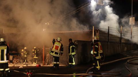 Feuerwehreinsatz in Freigericht