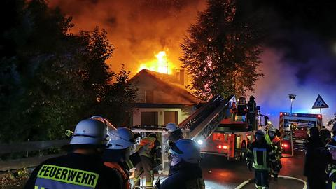 Feuerwehreinsatz in Friedewald