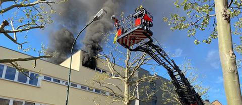 Feuerwehreinsatz in Fulda