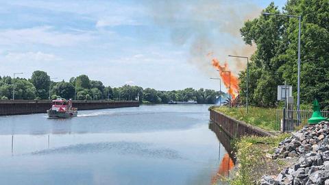 Brand in Großkrotzenburg