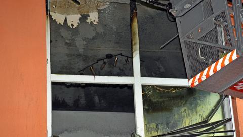 Ausgebrannte Wohnung in Herborn