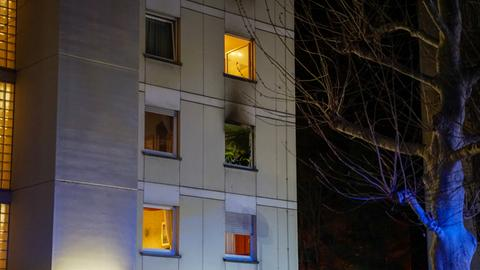 Feuerwehreinsatz in Frankfurt