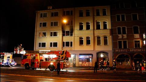 Bei einem Brand in Kassel kam ein Mensch ums Leben.