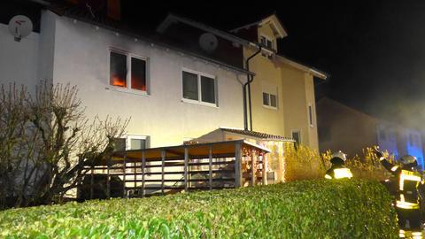 In einem Haus im Kasseler Stadtteil Philippinenhof-Warteberg brannte es an Silvester im ersten Stock