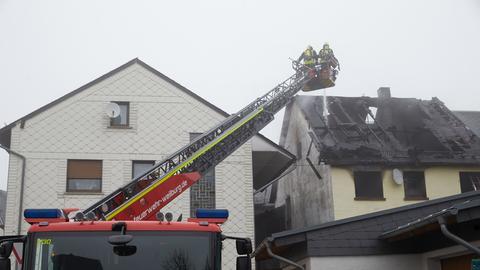 Bei dem Feuer kamen zwei Mädchen ums Leben.