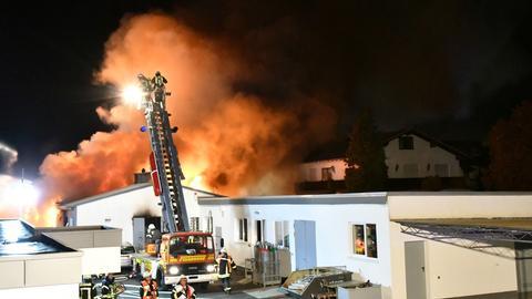 Feuerwehreinsatz in Mainhausen