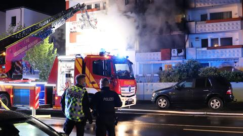 Brand in Mühlheim