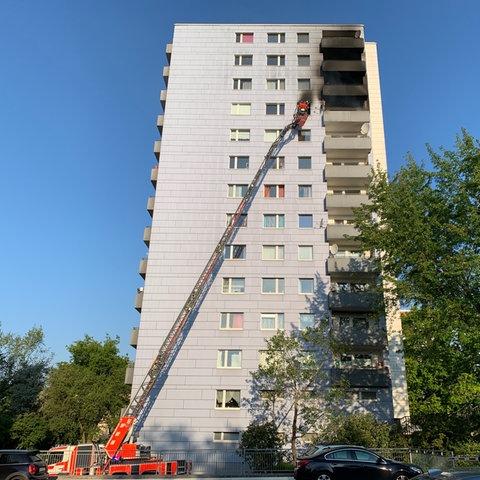 Feuerwehreinsatz in Niederursel