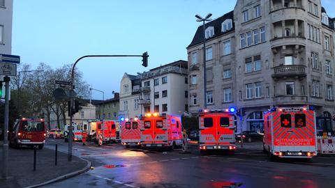 Feuerwehreinsatz in Offenbacher Seniorenwohnheim