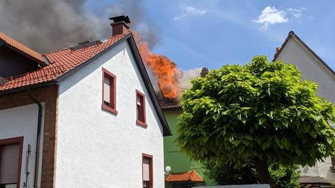 Wohnhausbrand in Offenbach