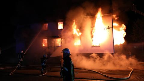 Feuerwehreinsatz in Homberg (Ohm)