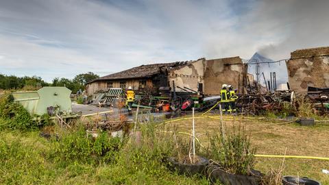 Feuerwehreinsatz am Ebentaler Hof
