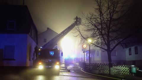 Brand in Rüdesheim