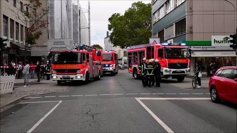 Feuerwehreinsatz in der Rüsselsheimer Innenstadt