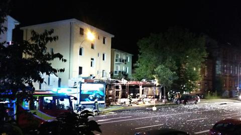Mehrere Verletzte bei Brand in Gießener Shisha-Bar