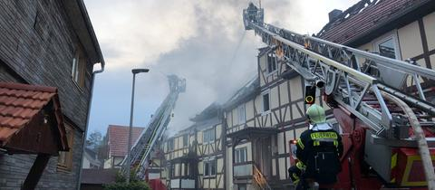 Brand in Söhrewald-Eiterhagen