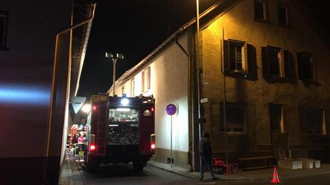 Feuerwehreinsatz in Stockstadt