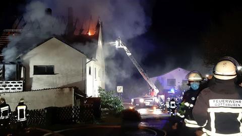 Feuerwehreinsatz in Trendelburg