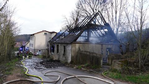 Gebäudebrand Vöhl
