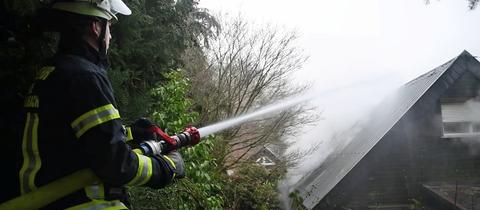 Feuerwehreinsatz in Wald-Michelbach