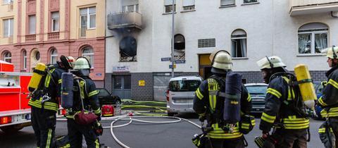 Feuerwehreinsatz in Wiesbaden