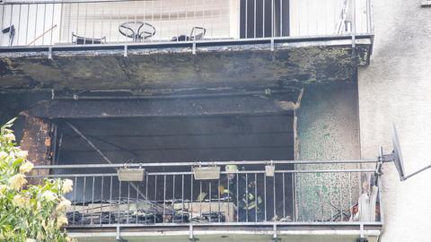 Drei Wohnungen sind stark beschädigt.