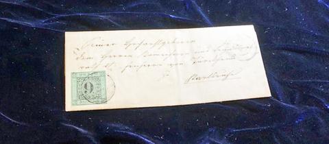 """Die """"Baden-Fehldruck 9 Kreuzer"""" aus dem Jahr 1851"""