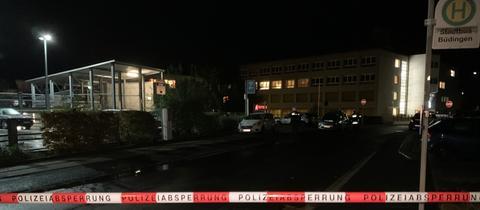 Büdingen Krankenhaus Bombe