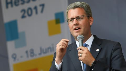 Patrick Burghardt, noch Oberbürgermeister, bald Staatssekretär