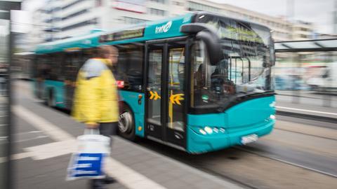Linienbus in Frankfurt